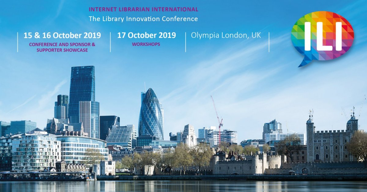 Internet Librarian International 2019 Conference
